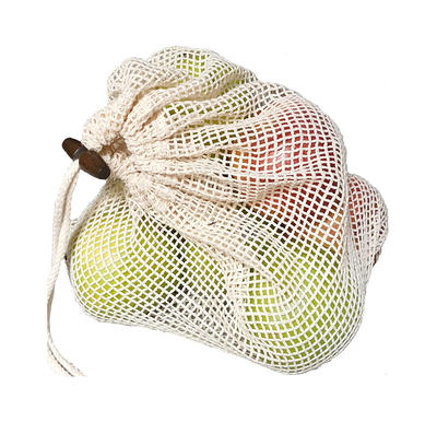 Reusable Small Drawstring Mesh Bag Net Bags For Fruits and Vegetables