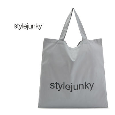 Natural Organic Standard Size Reusable Cotton Shopping Tote Bags Printed